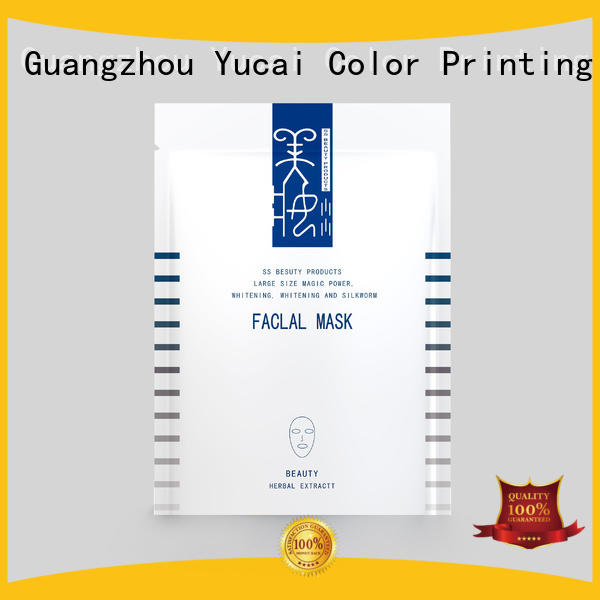 practical facial mask packaging directly sale for drinks