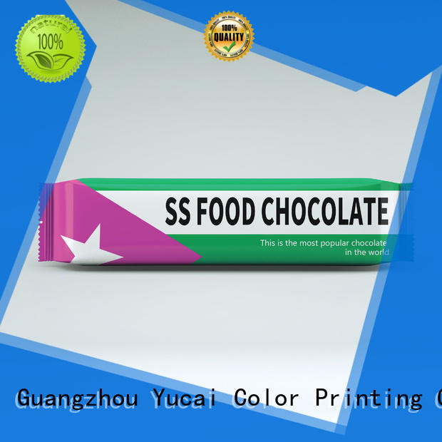 Yucai chocolate packaging series for food