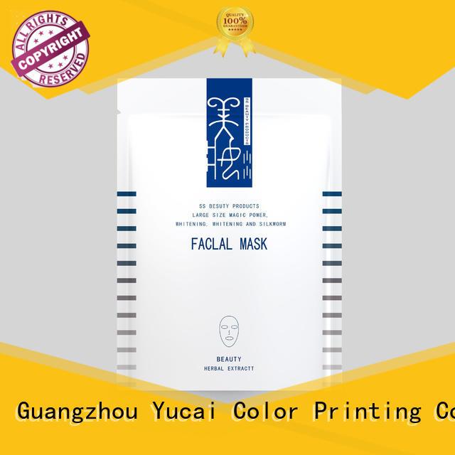 Yucai custom cosmetic packaging series for drinks