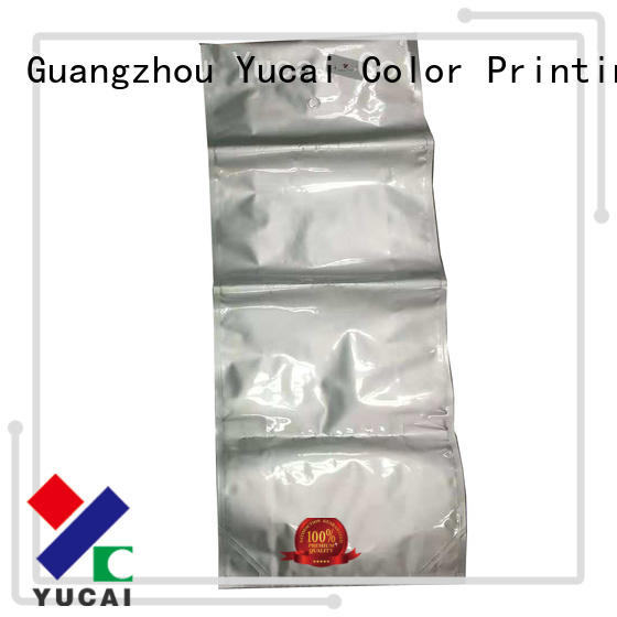 top packaging companies foil for food Yucai