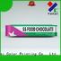 Yucai Brand chocolate plastic bags packaging chocolate packaging
