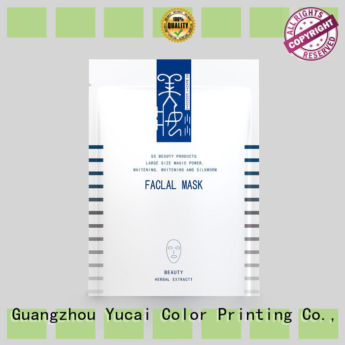Yucai custom cosmetic packaging from China for commercial