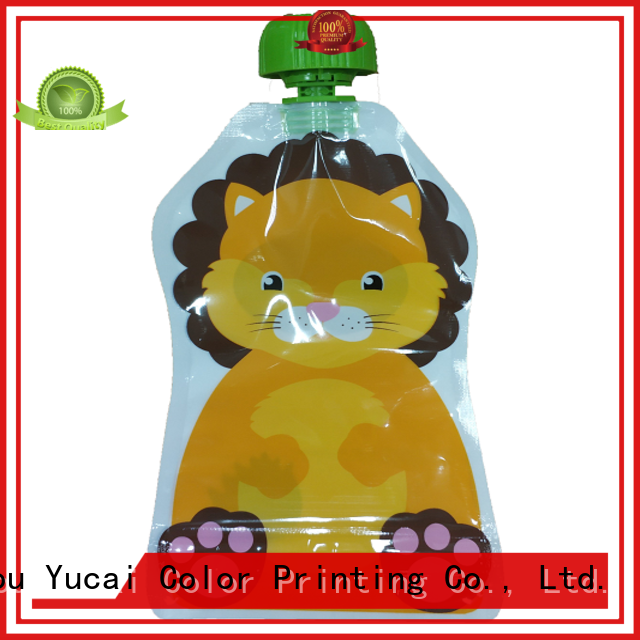 Yucai beverage pouches inquire now for commercial