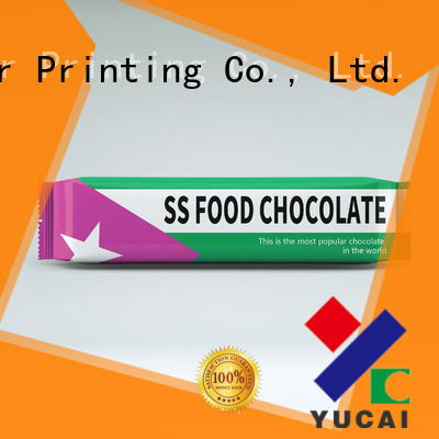 chocolate packaging material from China for food Yucai