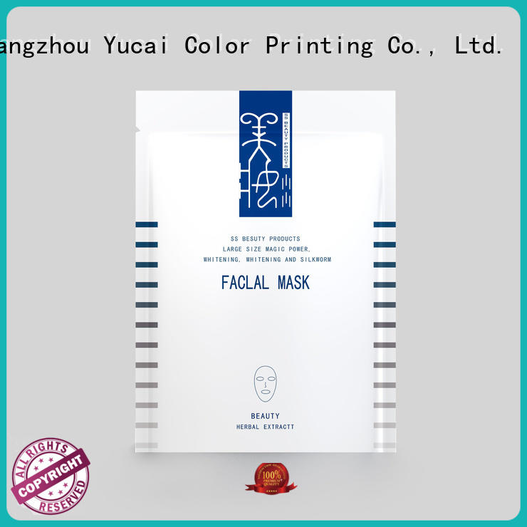 Yucai custom cosmetic packaging directly sale for drinks