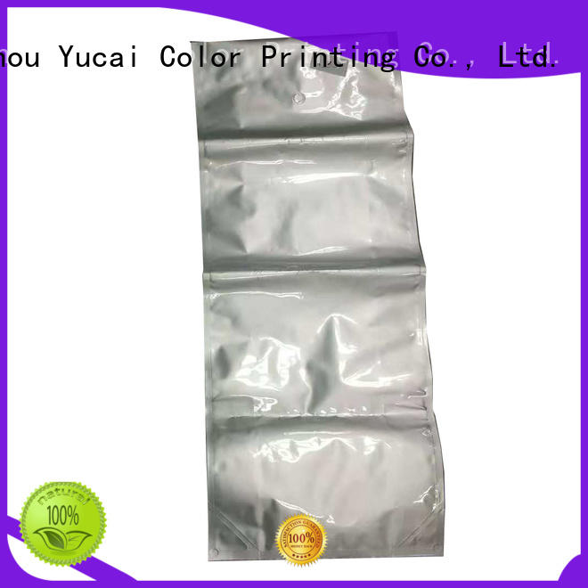 stand Custom Food grade packaging pet food packaging Yucai plastic
