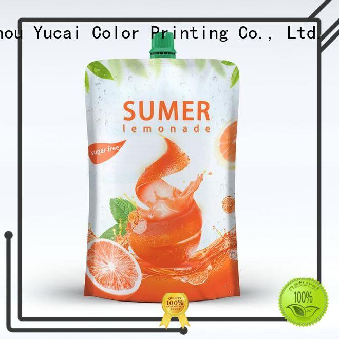 Yucai pouch packaging factory for industry