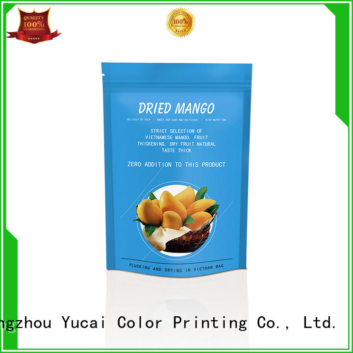 Yucai food packaging supplies with good price for food