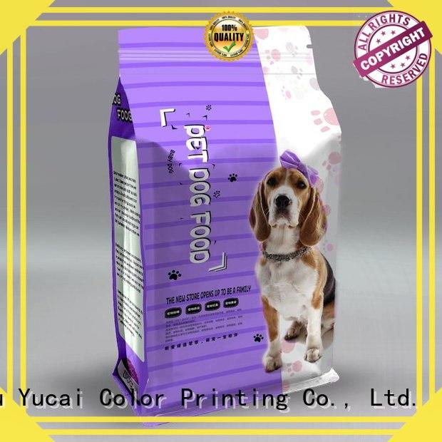 Yucai pet food packaging bag manufacturer for drinks