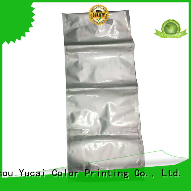 stand Food grade pet food packaging plastic pouches Yucai company