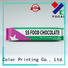 Yucai packaging chocolate packaging directly sale for industry