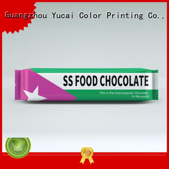 chocolate bar packaging packaging plastic chocolate Warranty Yucai