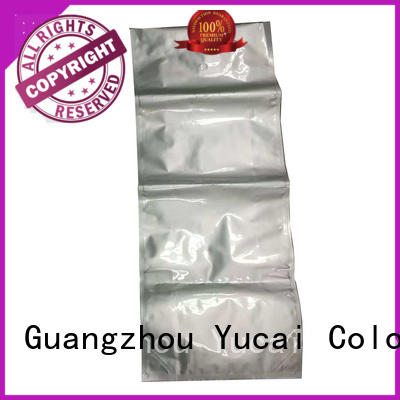 Yucai flat pet food packaging directly sale for commercial