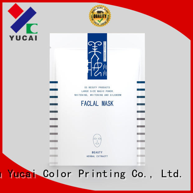 facial mask packaging supplier cosmetic bag packaging face mask packaging manufacture