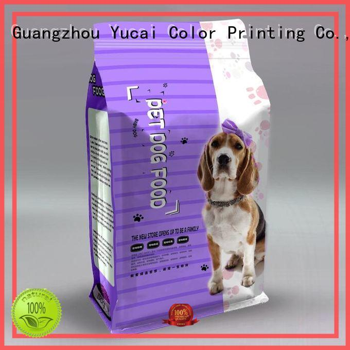 Yucai packaging companies customized for food