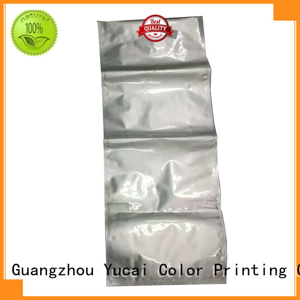 plastic pet food packaging bag pouch for drinks Yucai