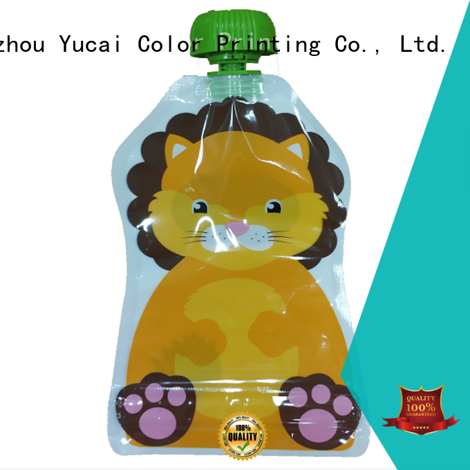 Yucai excellent disposable drink pouches with good price for drinks