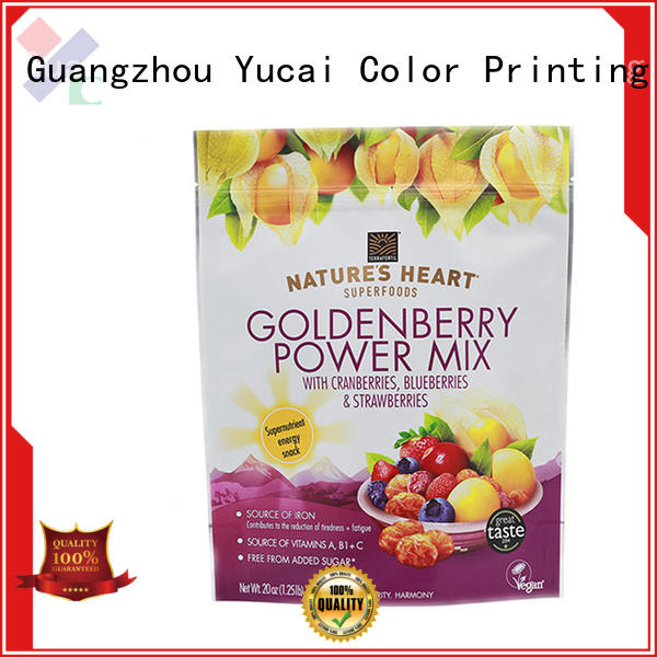 Yucai Brand food packaging food packaging supplies stand factory