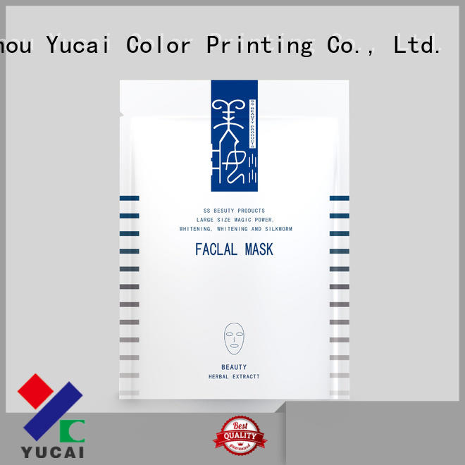 Yucai custom cosmetic packaging manufacturer for commercial