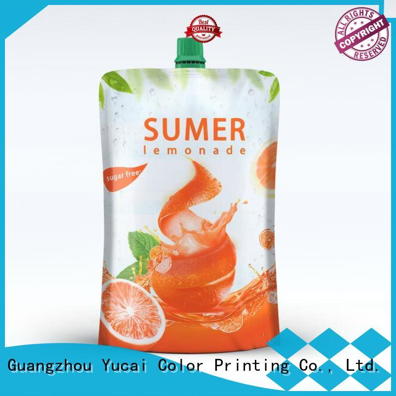 Yucai efficient pouch packaging factory for industry