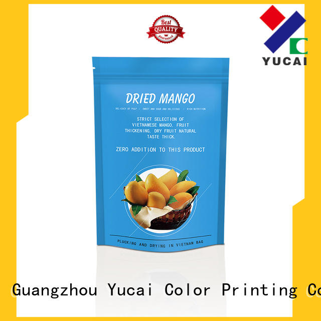 Yucai efficient food packaging supplies factory for industry