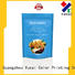 top quality food packaging bag design for food