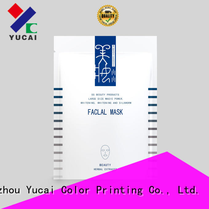 Yucai quality custom cosmetic packaging directly sale for industry