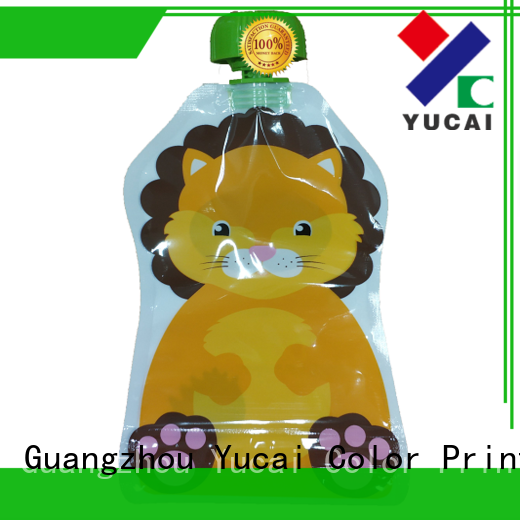 Yucai reusable pouch packaging with good price for drinks