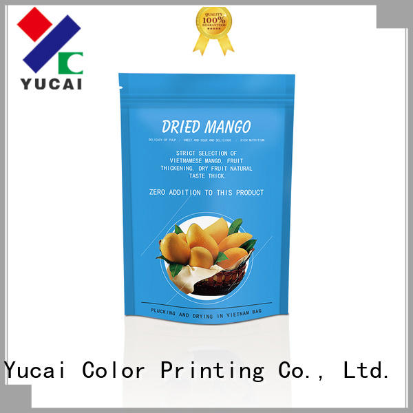 Yucai ziplock food packaging bag inquire now for commercial