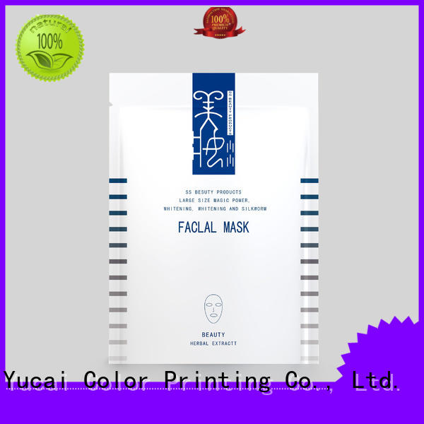 facial mask packaging supplier cosmetic packaging Warranty Yucai
