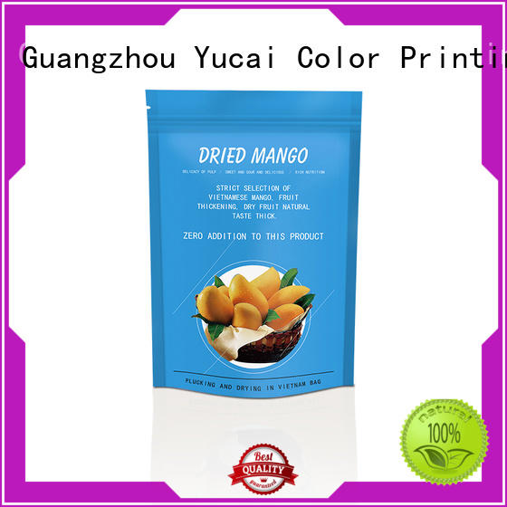 Yucai food packaging bags factory for commercial