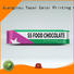 Yucai Brand packaging plastic chocolates chocolate bar packaging