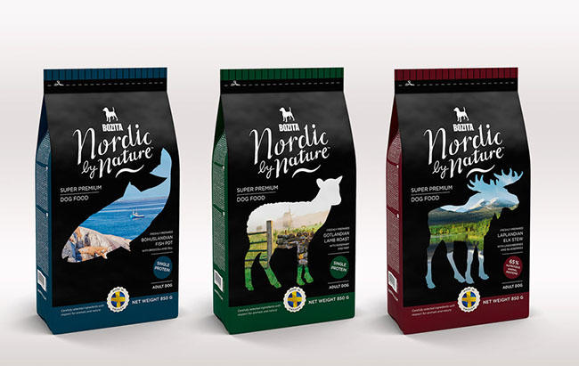 Pet Food Packaging With Stand Up Pouches