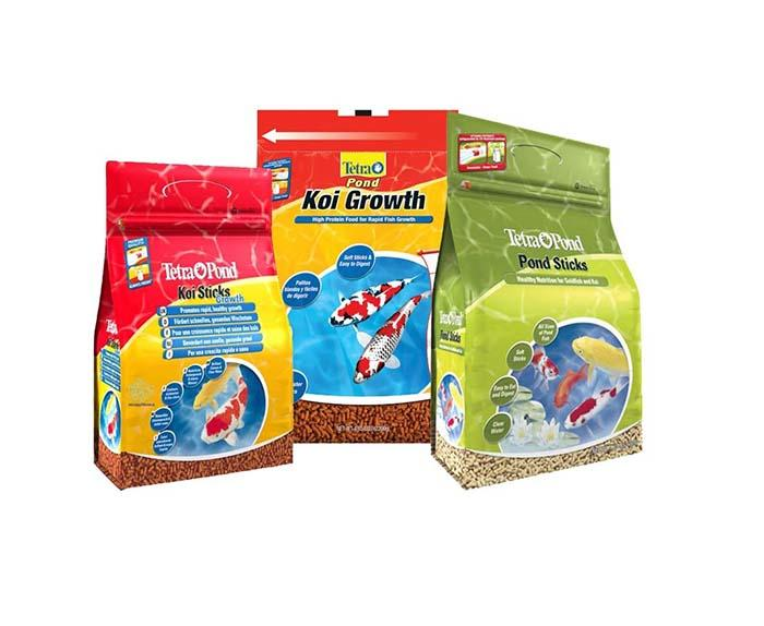 Yucai flat pet food packaging from China for industry