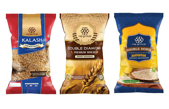 printed pouches food Yucai Brand food packaging supplies