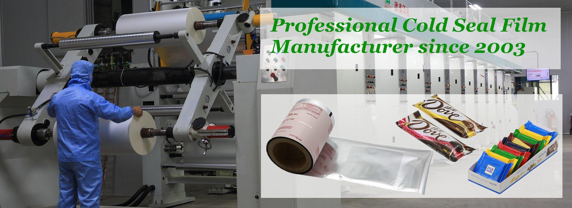cold seal film Manufacturer