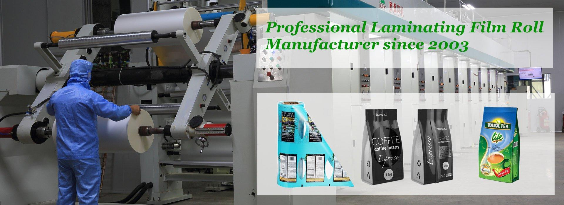 laminating roll film suppliers
