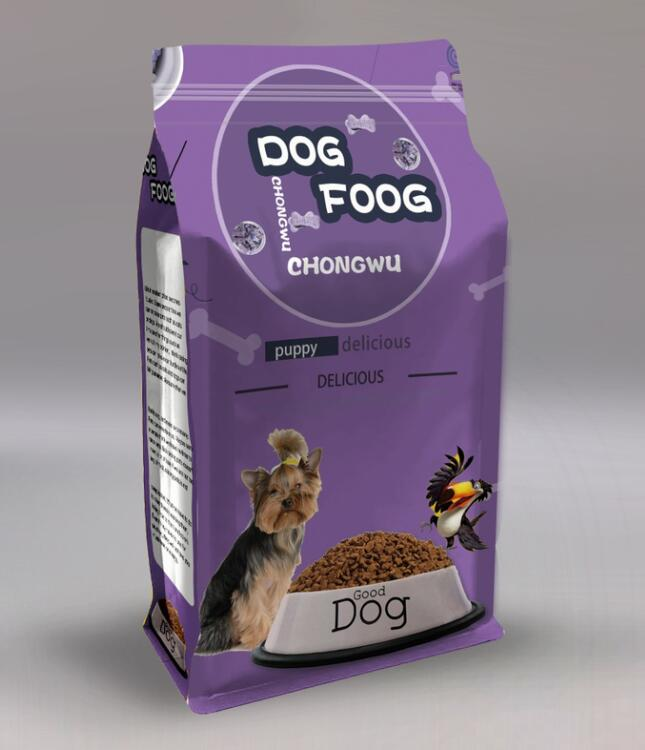 Yucai flat pet food packaging customized for food-6