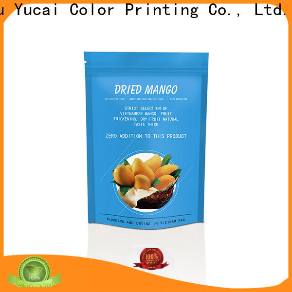 Yucai efficient food packaging bags factory for food