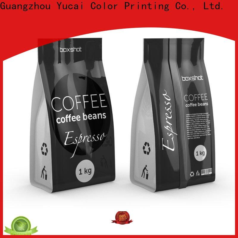 Yucai quality coffee bags wholesale wholesale for commercial