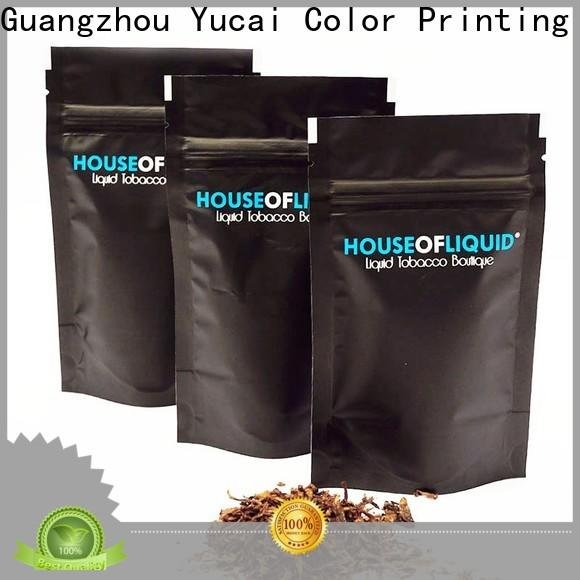 Yucai tobacco pouch supplier for drinks