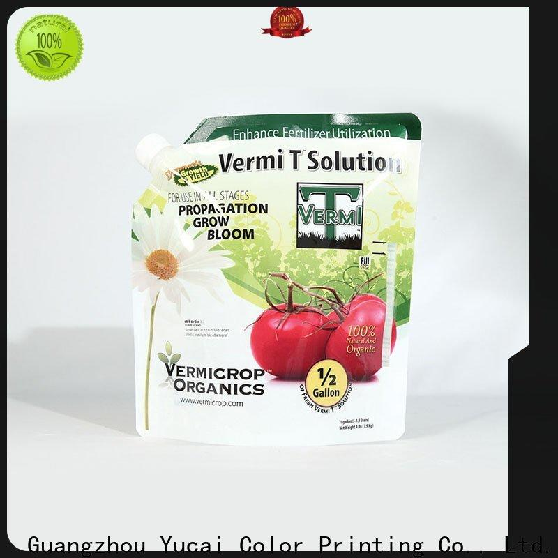 Yucai fertilizer packaging series for industry