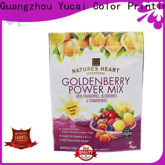 Yucai food packaging bag inquire now for commercial