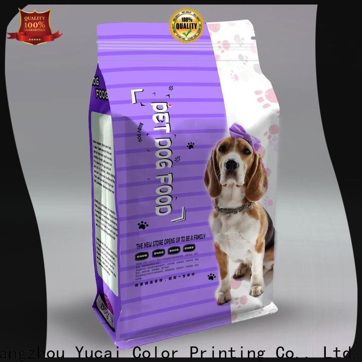 Yucai pet food packaging bag customized for commercial