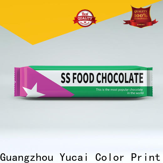 Yucai chocolate packaging supplies from China for drinks