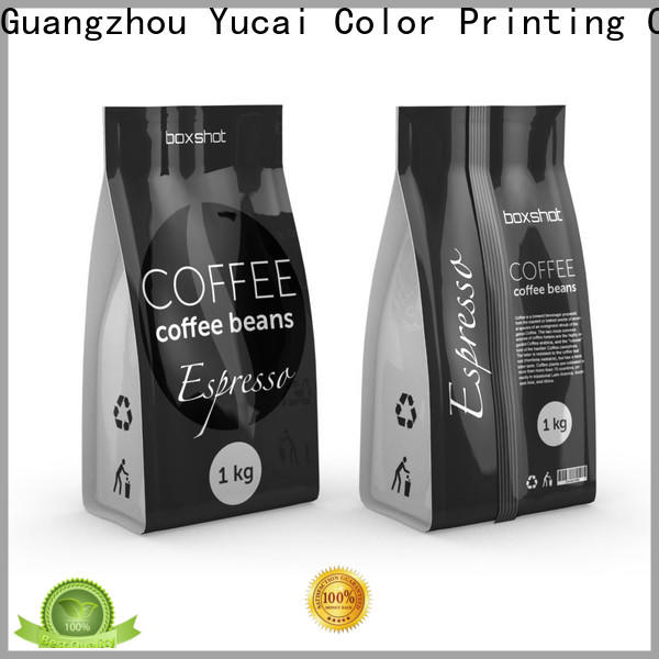 Yucai coffee bags wholesale wholesale for commercial
