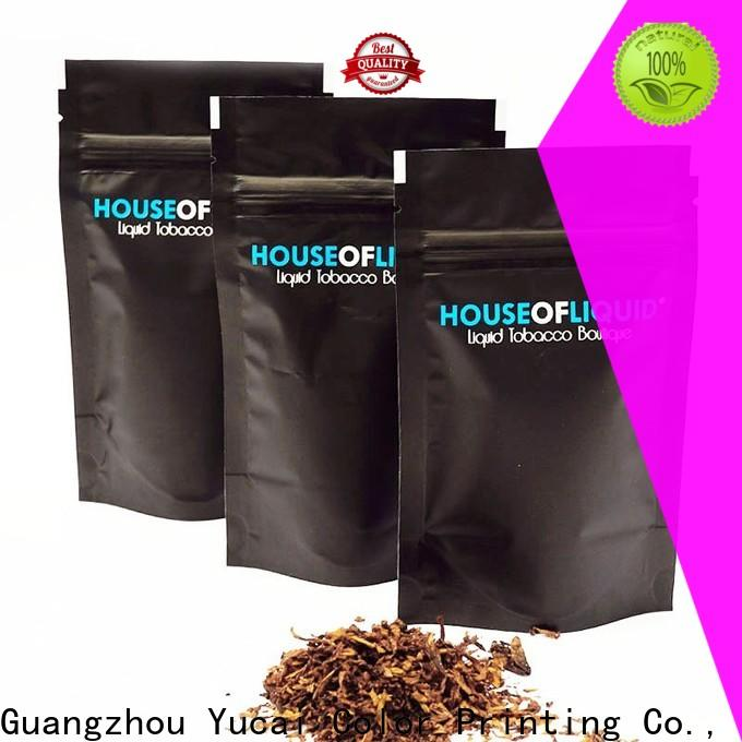 Yucai quality bag of tobacco wholesale for food
