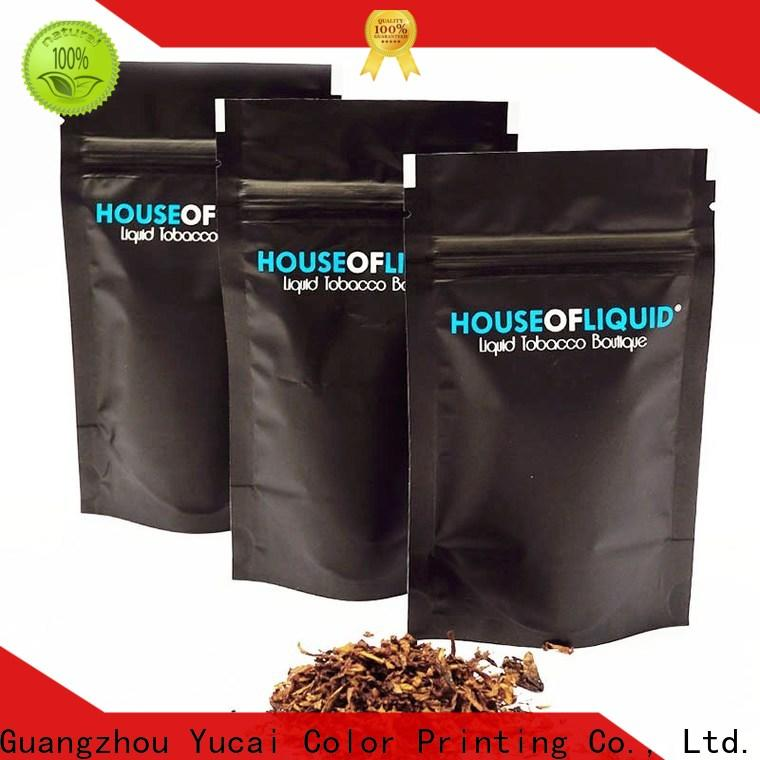 Yucai stable bag of tobacco wholesale for industry