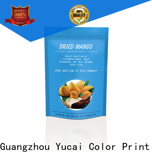 Yucai approved food packaging supplies design for commercial