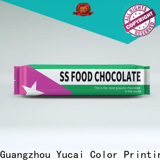 Yucai quality chocolate packaging manufacturer for industry